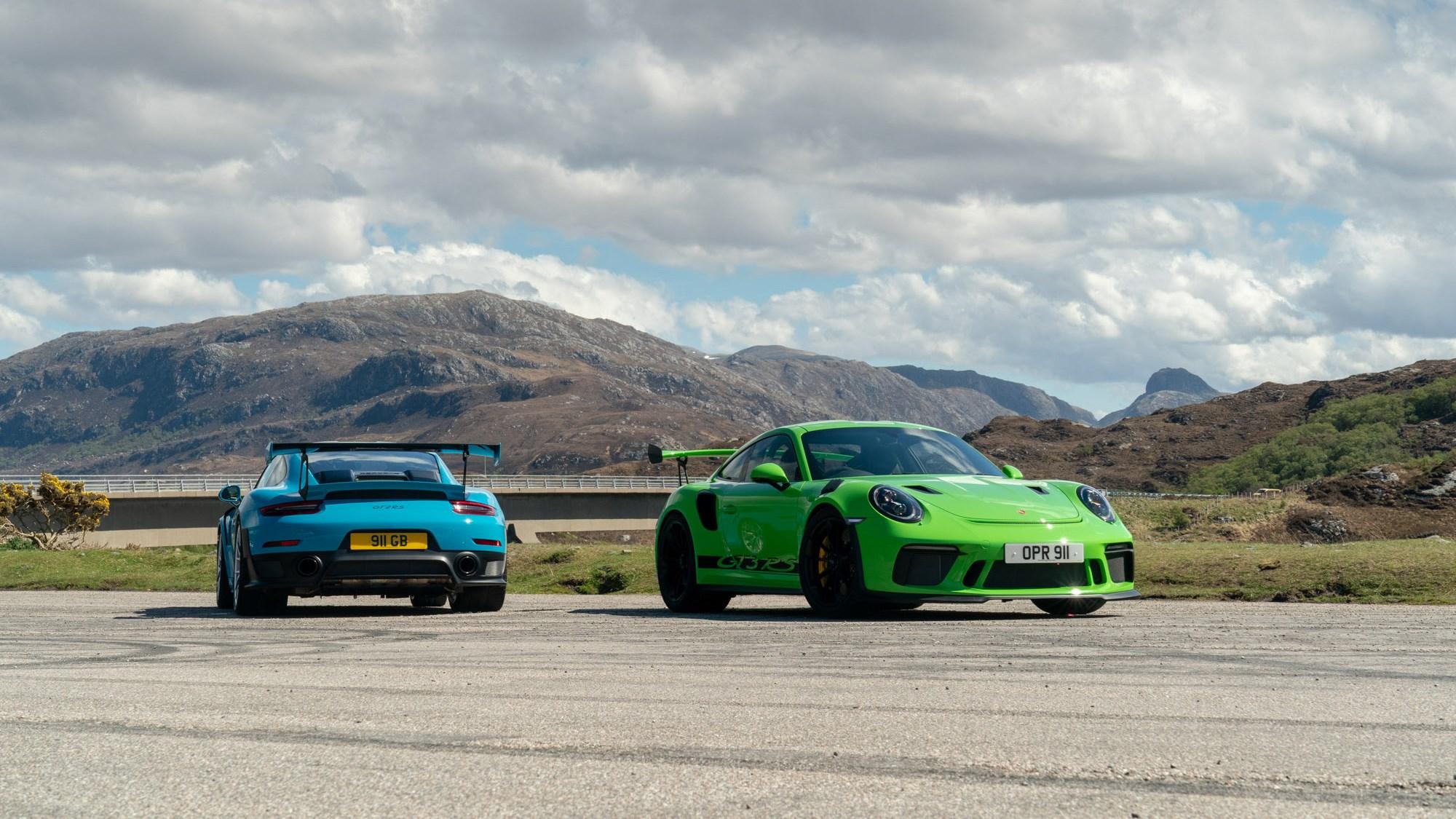 Porsche At 70 A 911 Family Road Trip Car Magazine