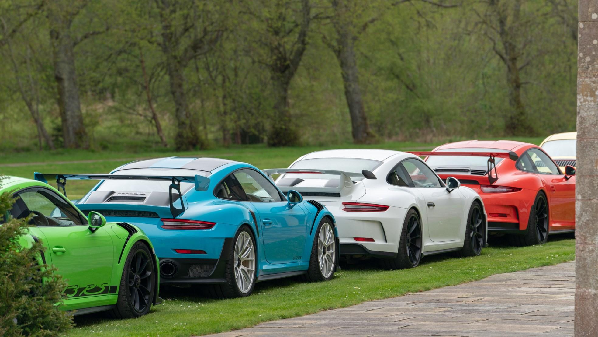 Porsche at 70 a 911 family road trip