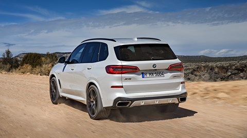 X5 rear tracking