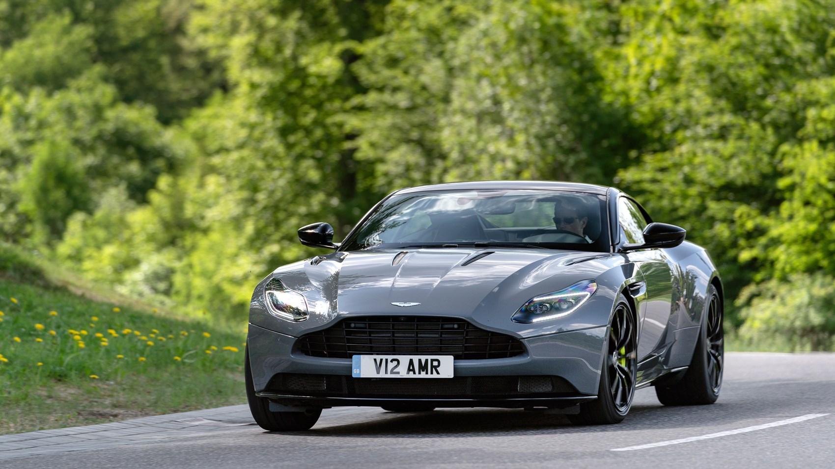 Aston Martin DB11 AMR front cornering