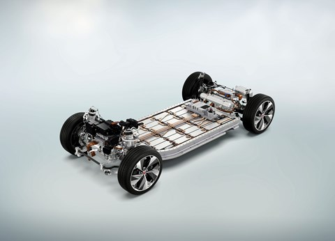 Skateboard chassis: freeing up more creative opportunity for car designers