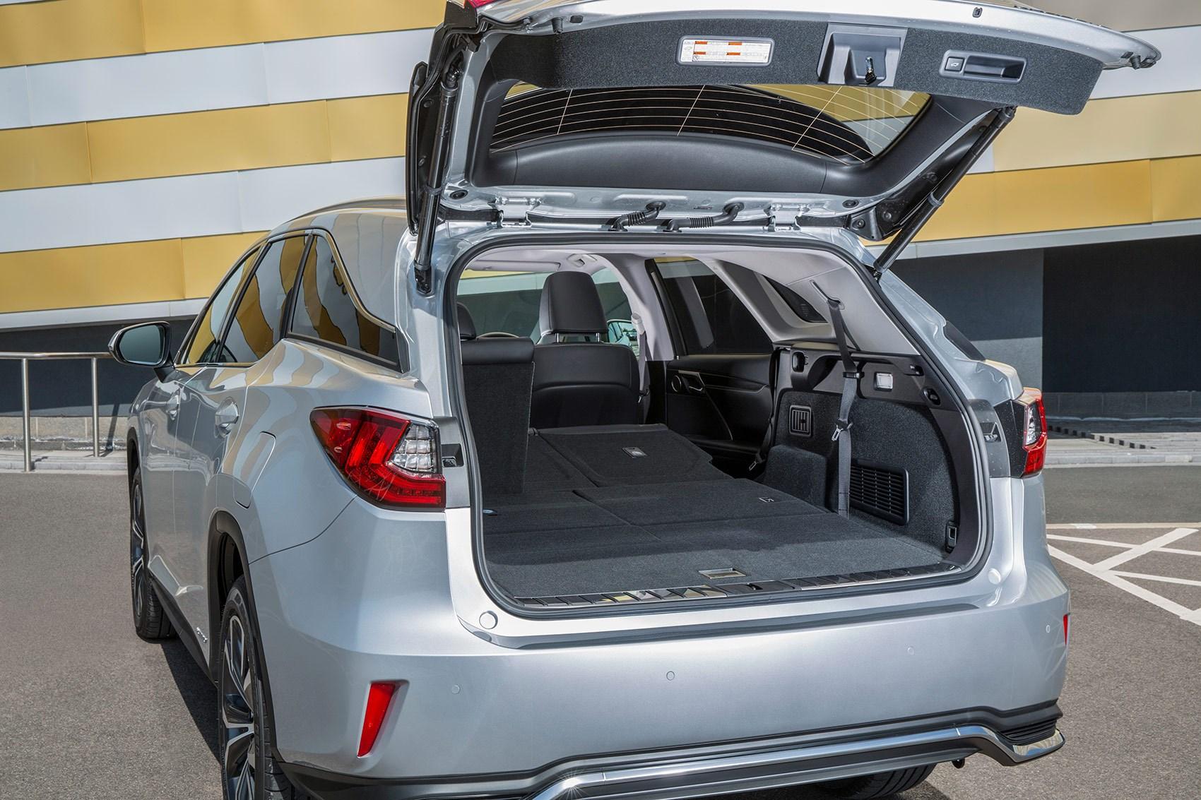 Lexus RX L seven-seater boot