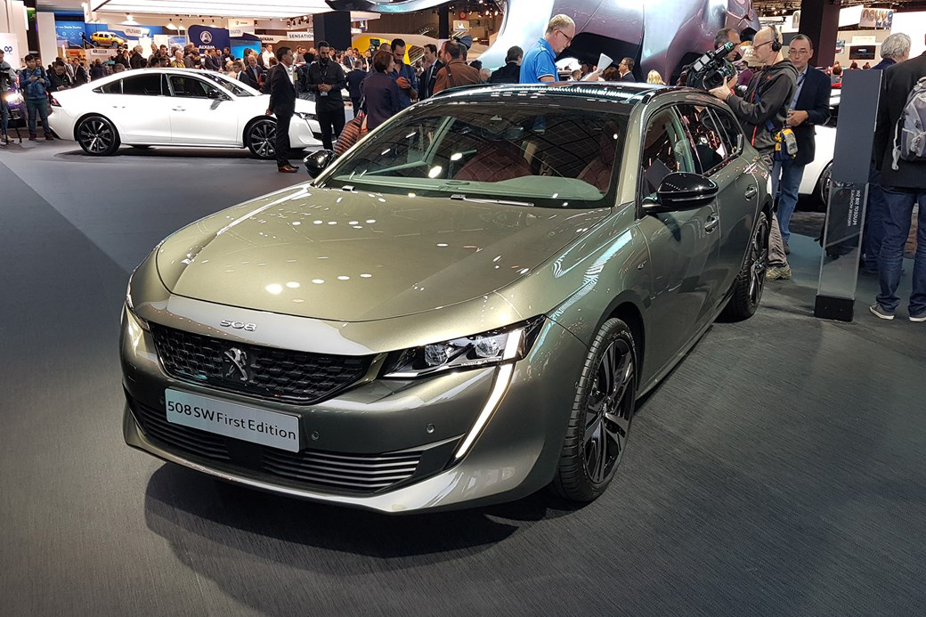 Gallic Space Race New Peugeot 508 Sw Revealed At Paris Car Magazine