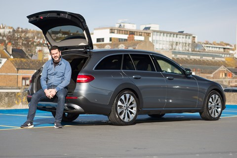 Ben Oliver and CAR magazine's Mercedes-Benz E-class All-Terrain