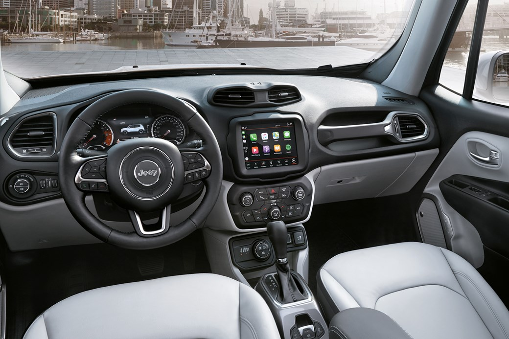 Jeep Renegade Interior >> Nip Tuck Time For Jeep Renegade 2018 Facelift Revealed Car Magazine
