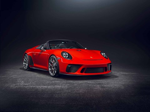New 2018 Porsche 911 Speedster Concept