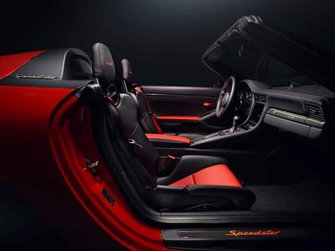 Porsche 991.2 Speedster interior