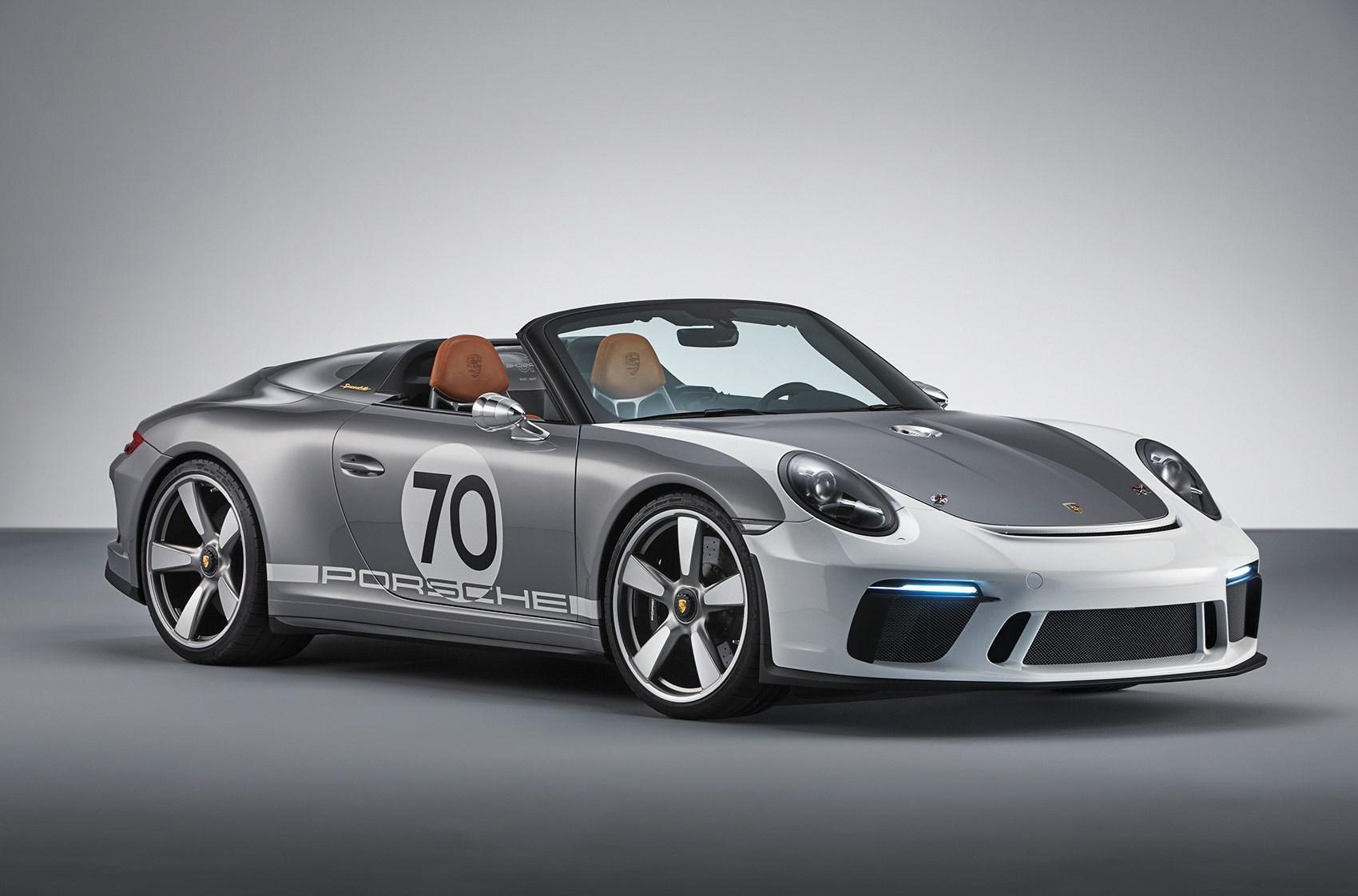 New Porsche 911 Speedster Concept News Specs Prices