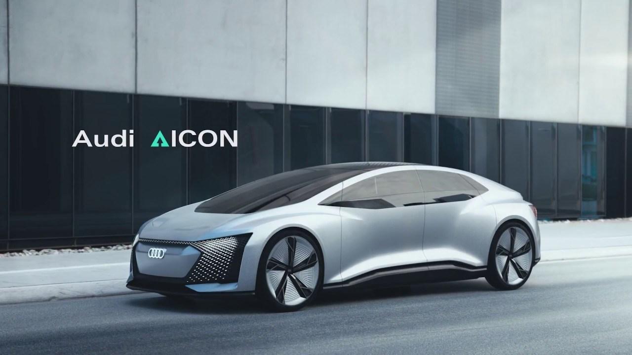 Audi Is Making A Fleet Of Autonomous Aicon Cars CAR Magazine - Audi driverless car