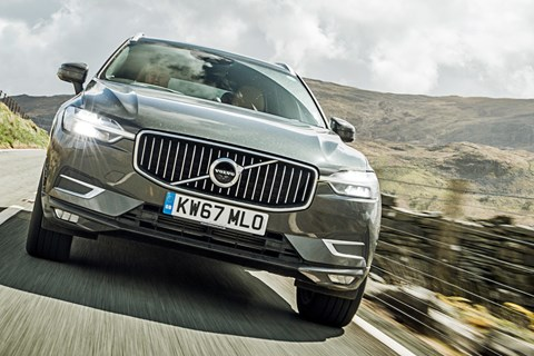 Volvo XC60 LTT front tracking