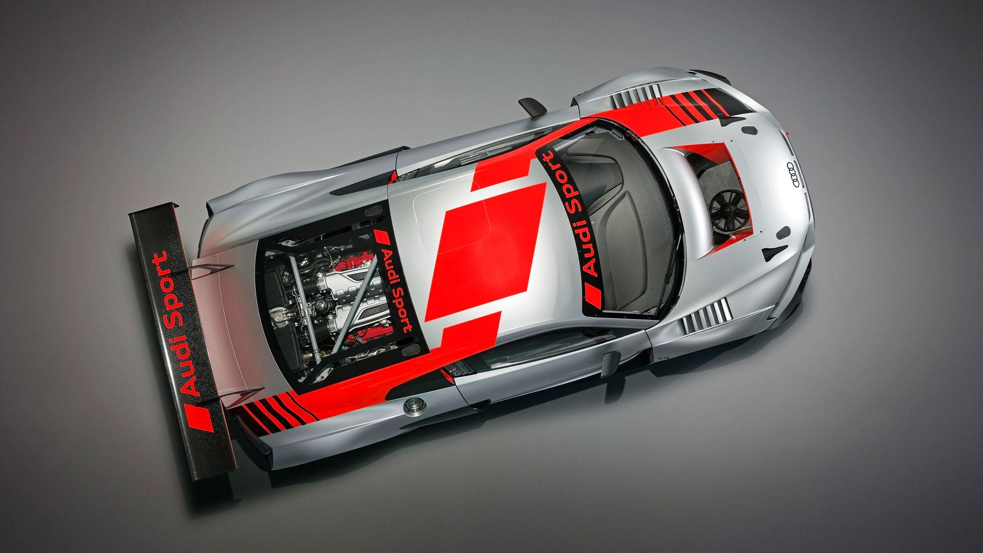 Audi R GT LMS Evo Racer Previews Supercar CAR Magazine - Audi r8 race car for sale