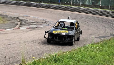Vauxhall Corsa stock car