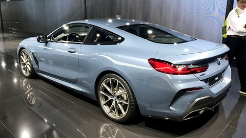 BMW 8-Series at the Paris motor show