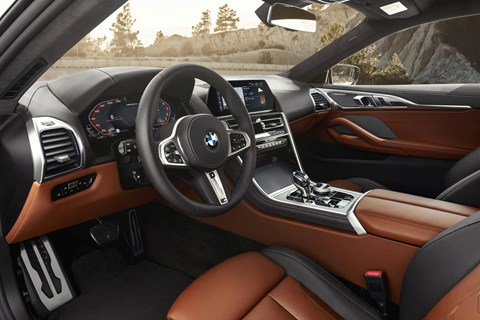 BMW 8-series interior