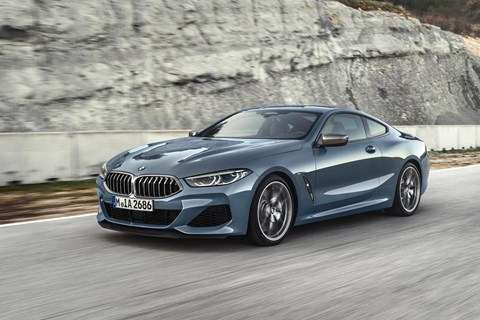 BMW 8-series front tracking