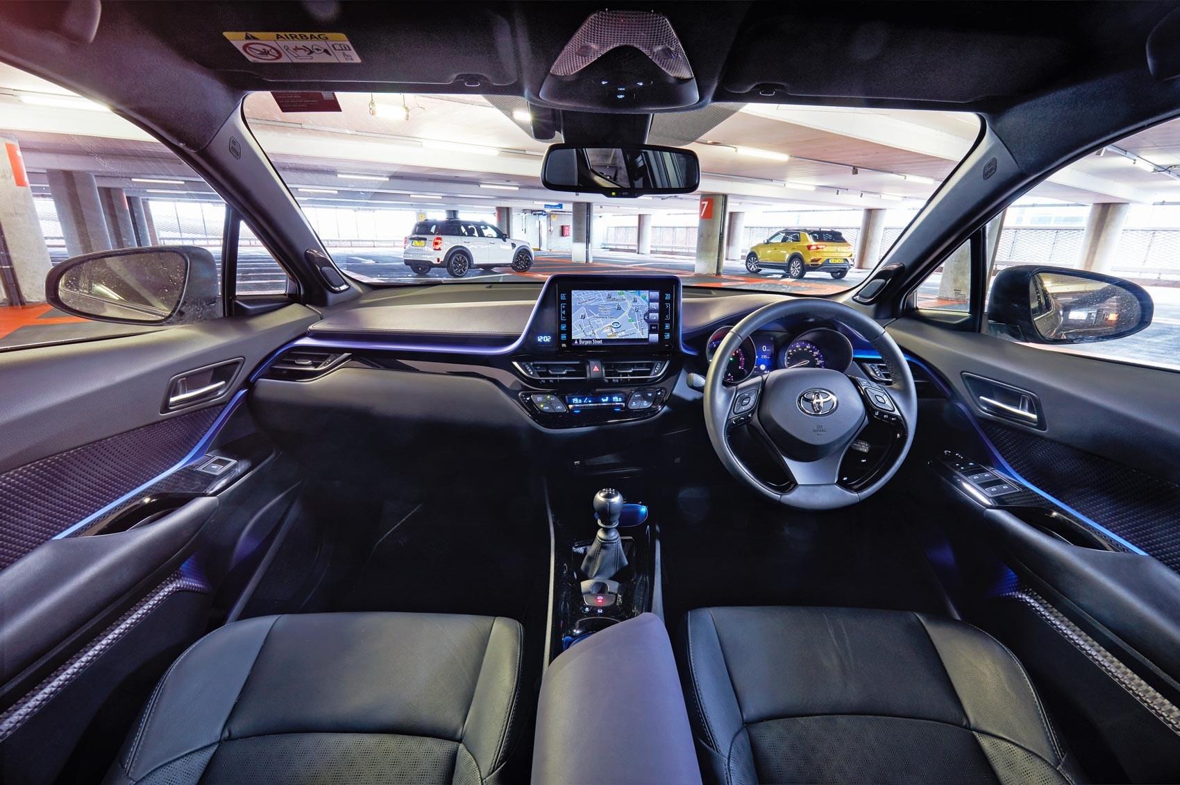 VW T-Roc vs Mini Countryman vs Toyota C-HR triple test ...
