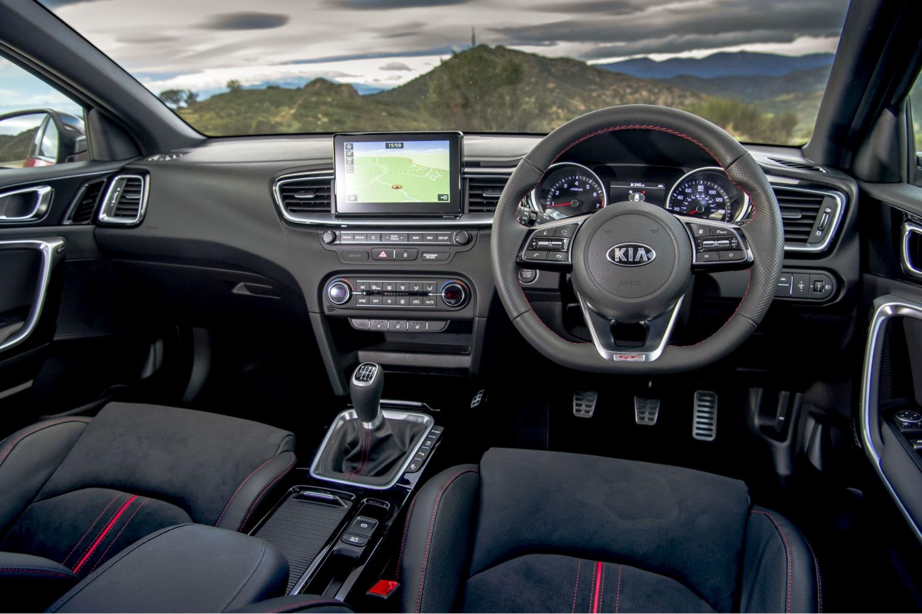 2020 Kia Ceed interior