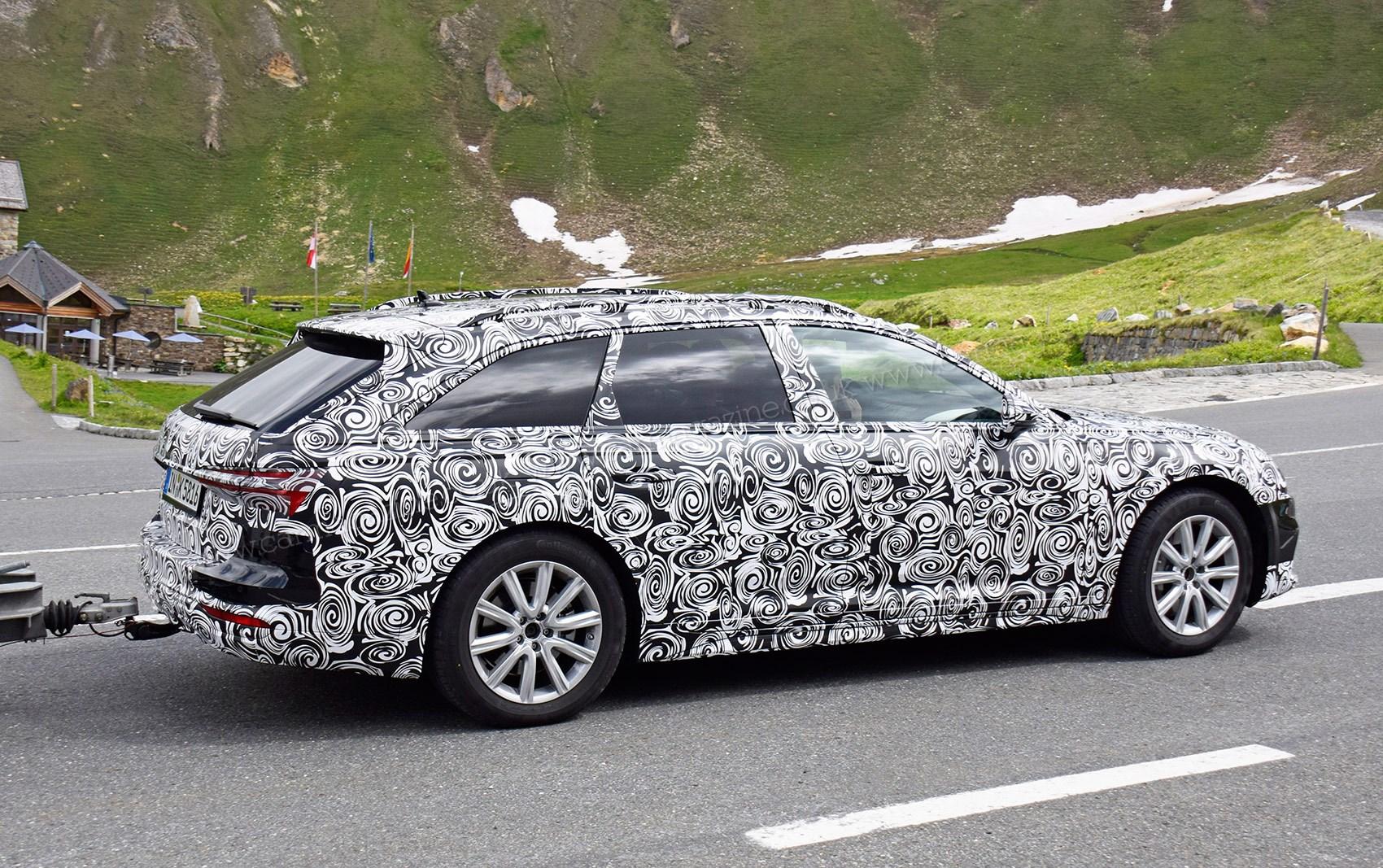 New Audi A Allroad Spy Photos CAR Magazine - Allroad audi