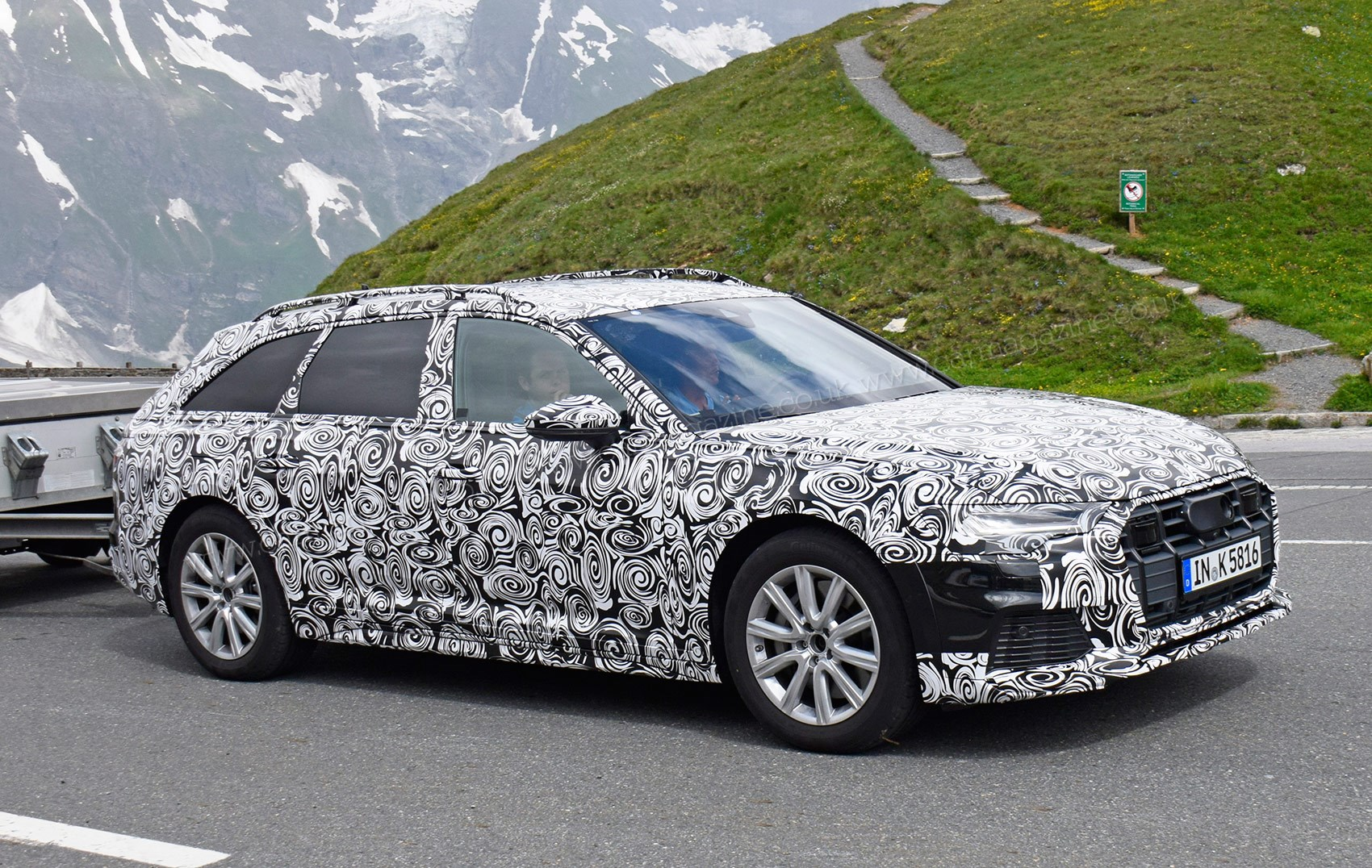 New Audi A6 Allroad Spy Photos Car Magazine