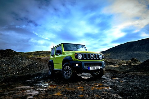 The regular Suzuki Jimny