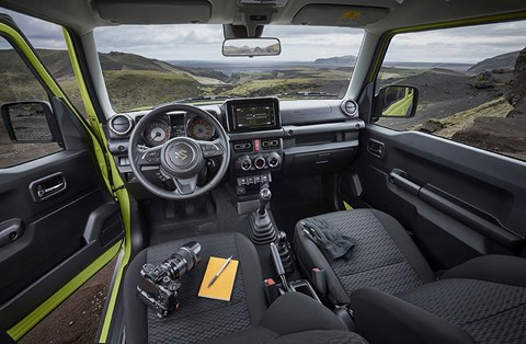Suzuki Jimny interior and cabin