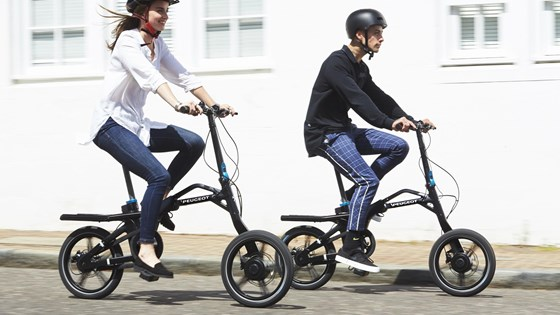 The eF01 Electric Bike is available at Peugeot dealers