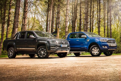 Ford and VW pickups
