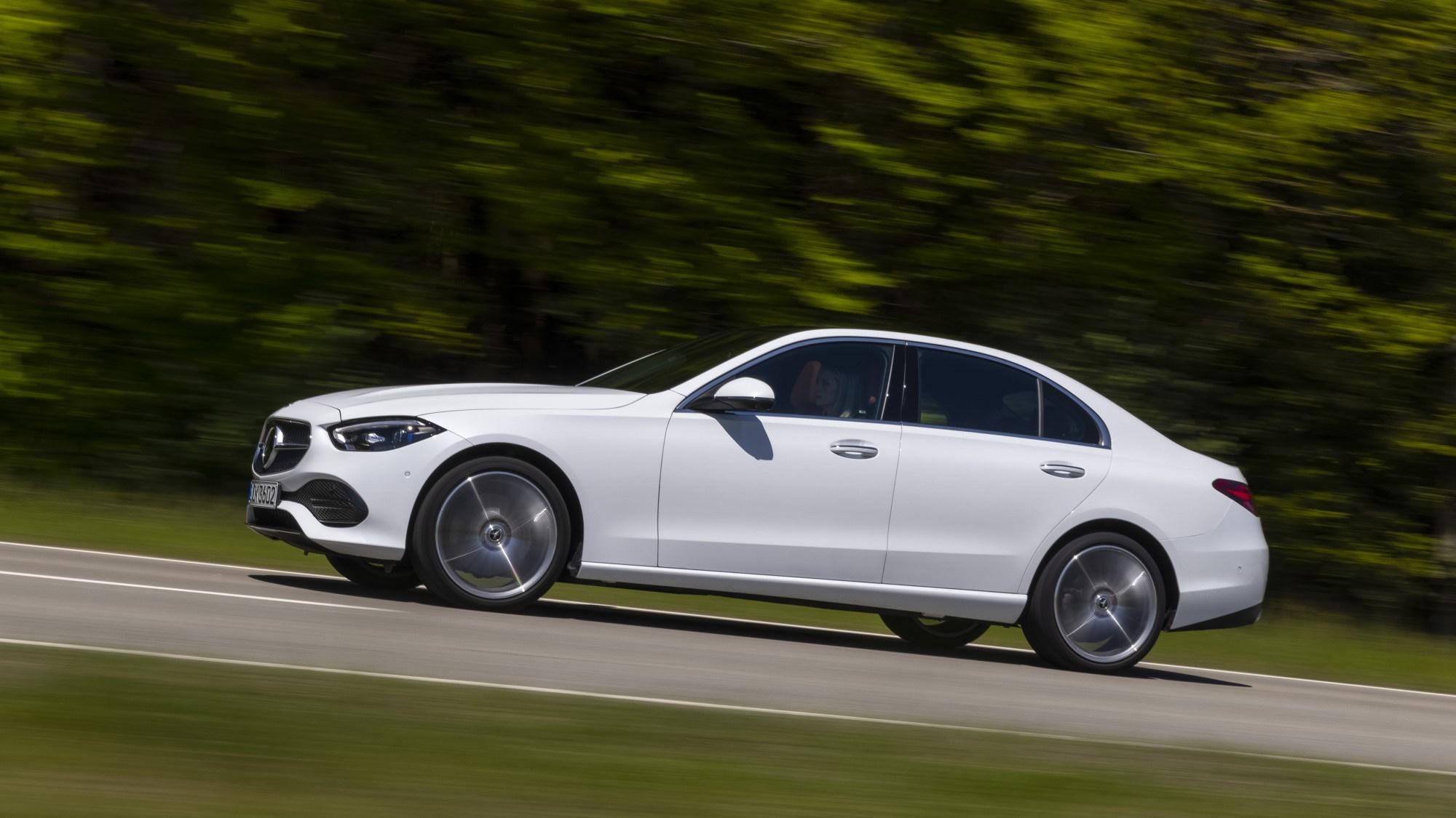2021 Mercedes-Benz C-Class side profile