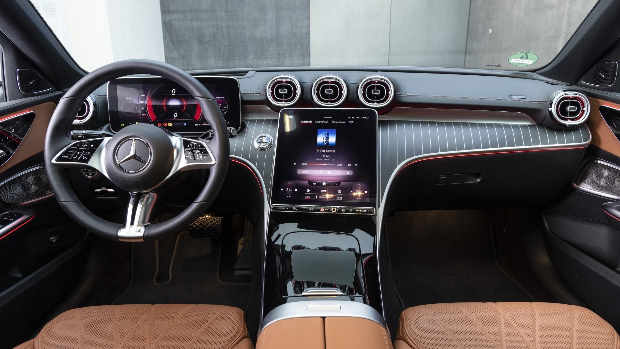 2021 Mercedes-Benz C-Class interior