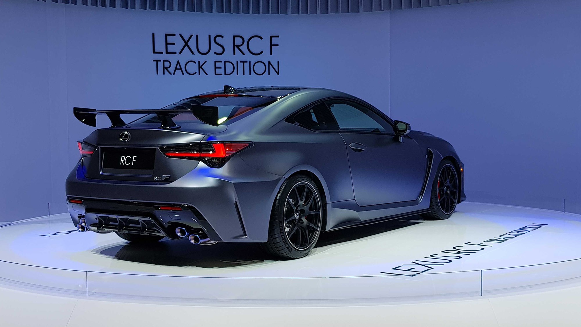 Lexus Rc F Track Edition Revealed Car Magazine