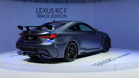 Lexus RC F Track at Geneva 2019