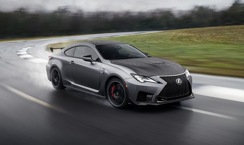 Lexus RC F Track Edition is sprinkled with lightweight aero mods