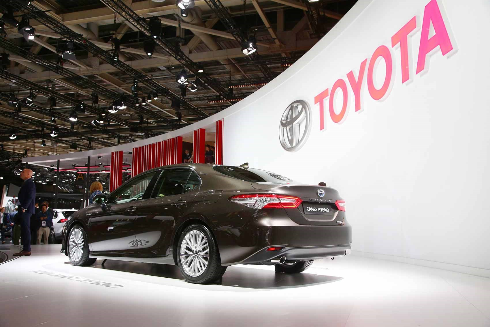 The Toyota Camry At 2018 Paris Motor Show