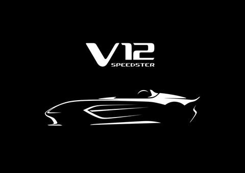 Aston Martin V12 Speedster: a teaser