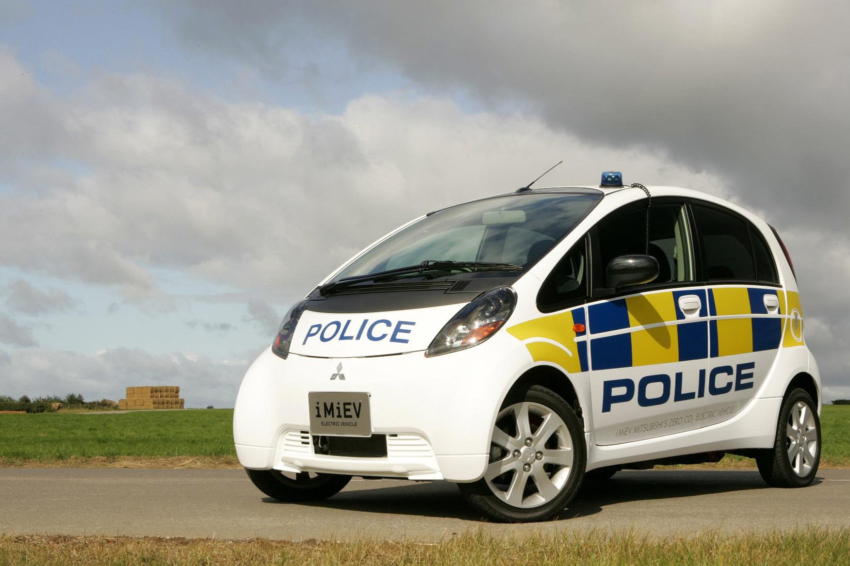 The Mitsubishi I Miev Some Police Forces Are Even Going Electric