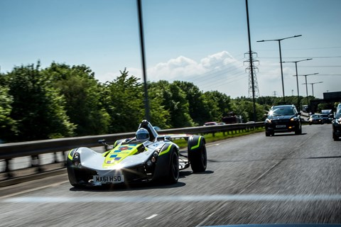 Can police cars catch you speeding? Yes they can, in a BAC Mono police car