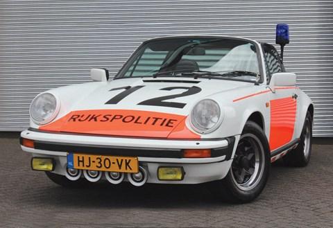 1982 Porsche 911 3.0 SC 'Rijkspolitie' police car