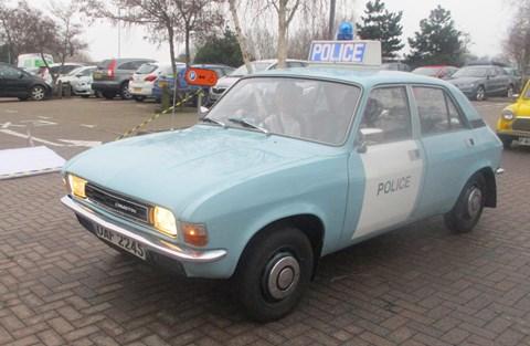 Austin Allegro police car
