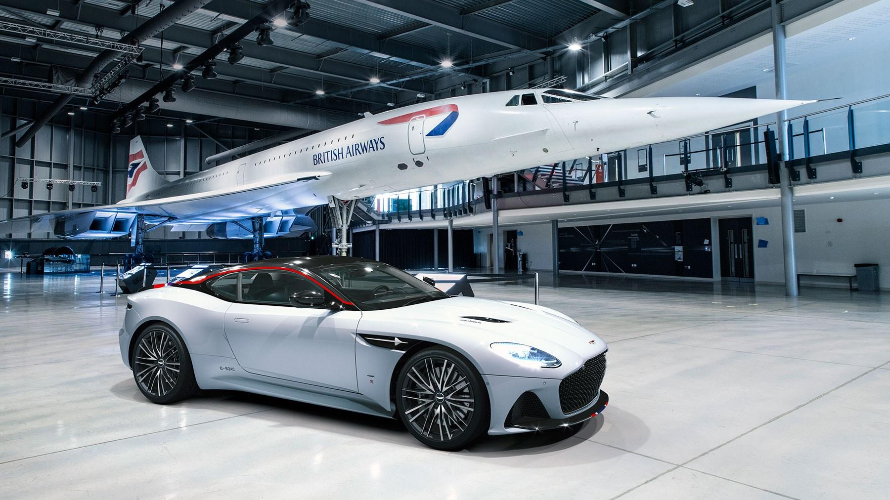 Aston Martin Dbs Superleggera Concorde A Supersonic Special Edition Car Magazine