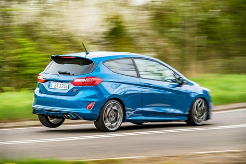 Ford Fiesta ST rear cornering