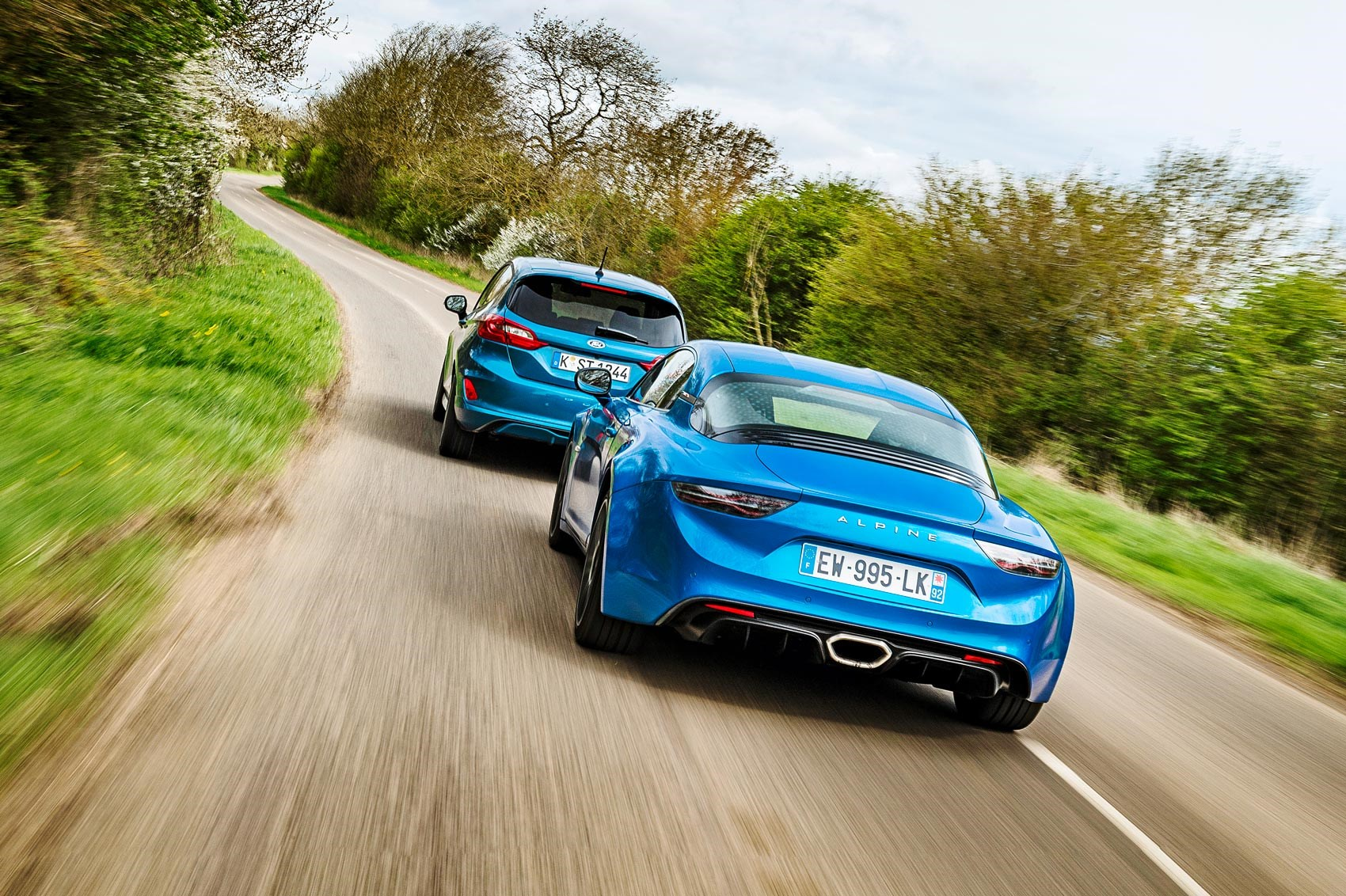 alpine a110 and ford fiesta st twin test review car magazine. Black Bedroom Furniture Sets. Home Design Ideas