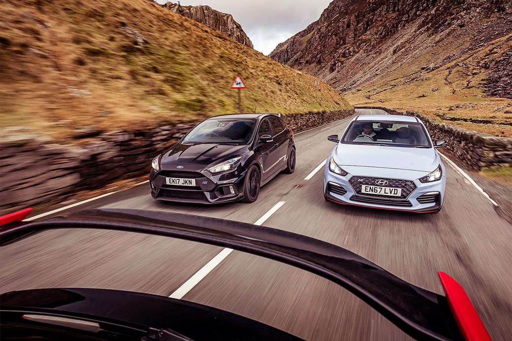 Focus Rs Vs Civic Type R Vs I30n Long Termer Triple Test Factesla
