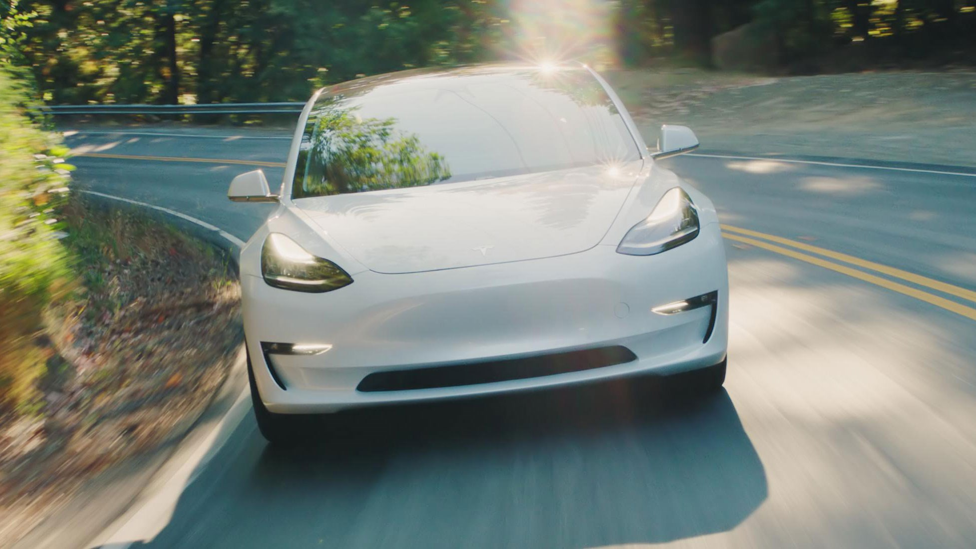 Tesla Finally Hits Model 3 Production Target Car Magazine Interior Lights Delay