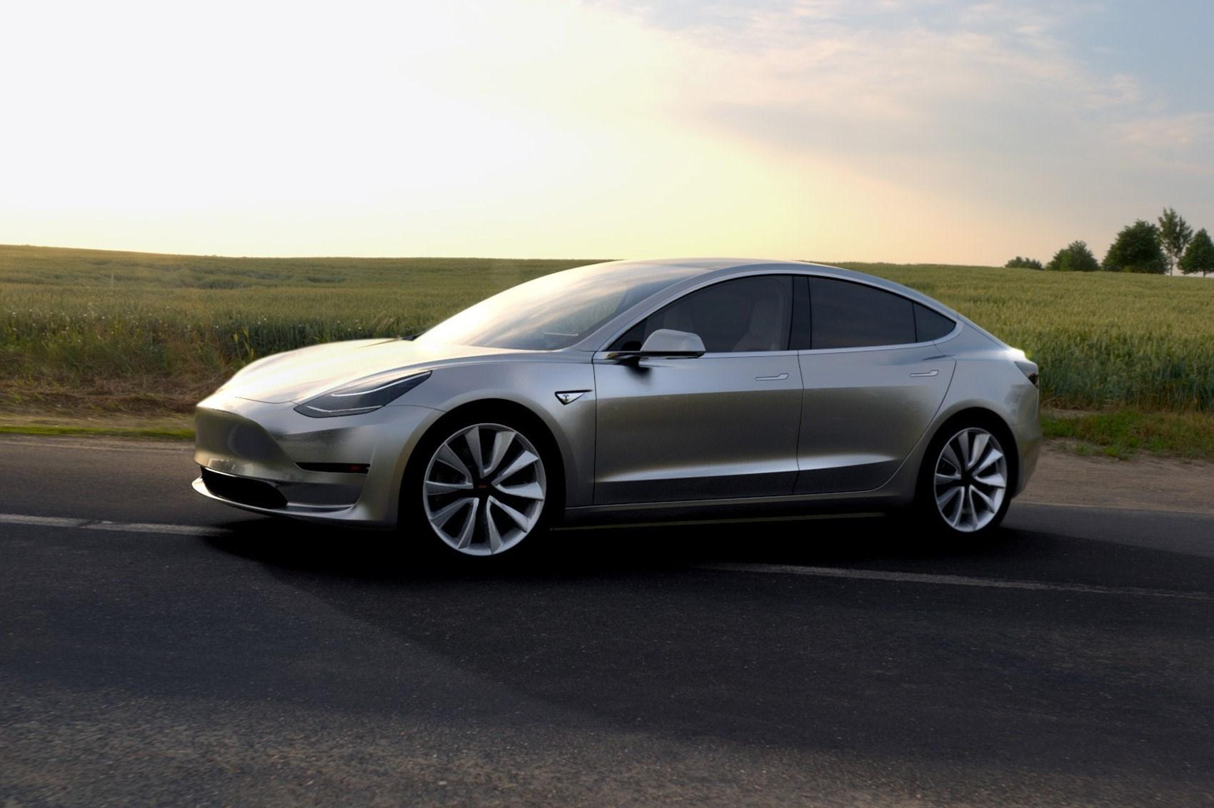Tesla Finally Hits Model 3 Production Target