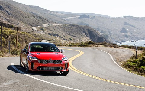 Kia Stinger: we review the 4wd US model