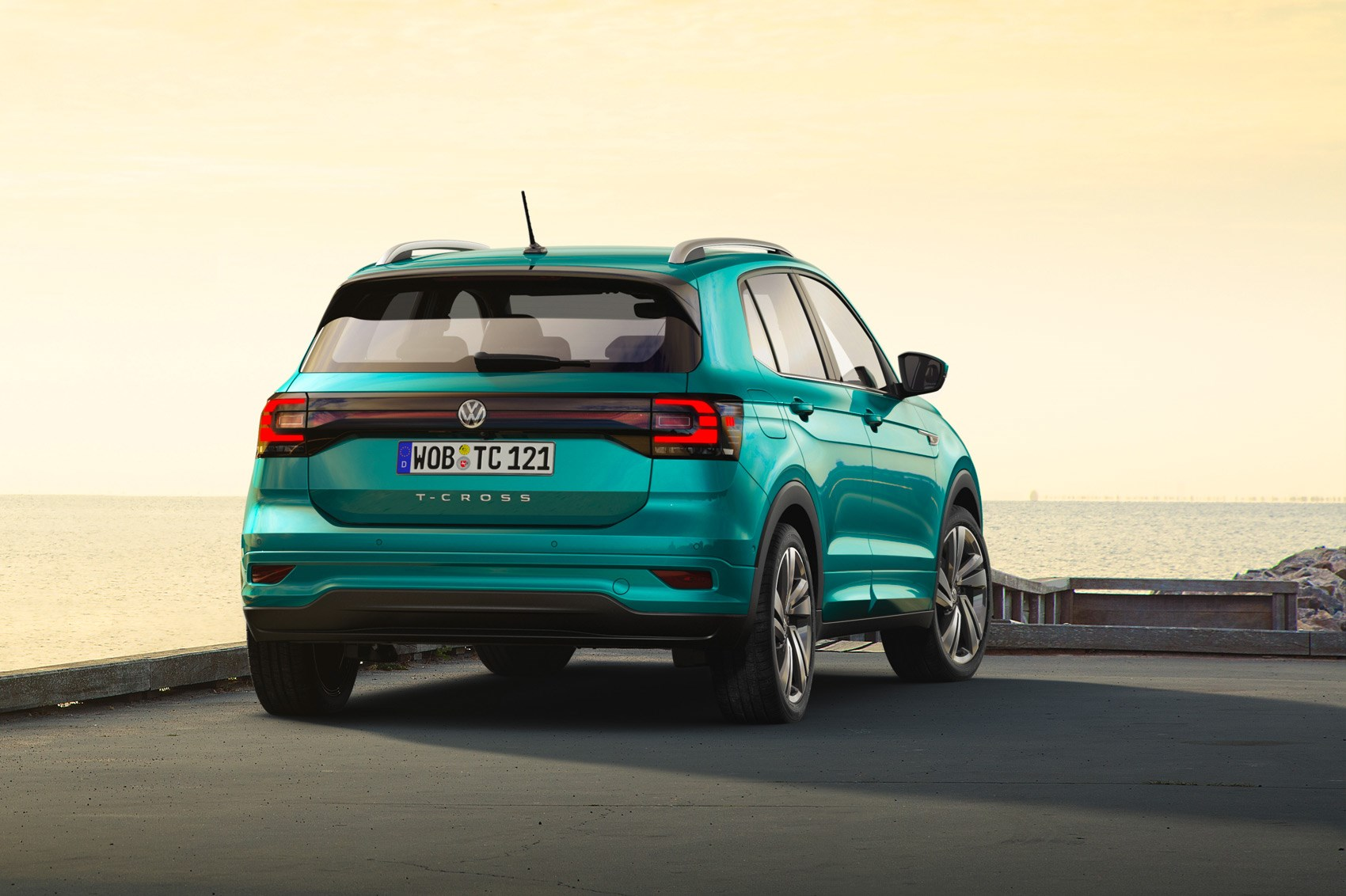 VW Touareg For Sale >> New Volkswagen T-Cross unveiled: it's VW's Arona! | CAR Magazine