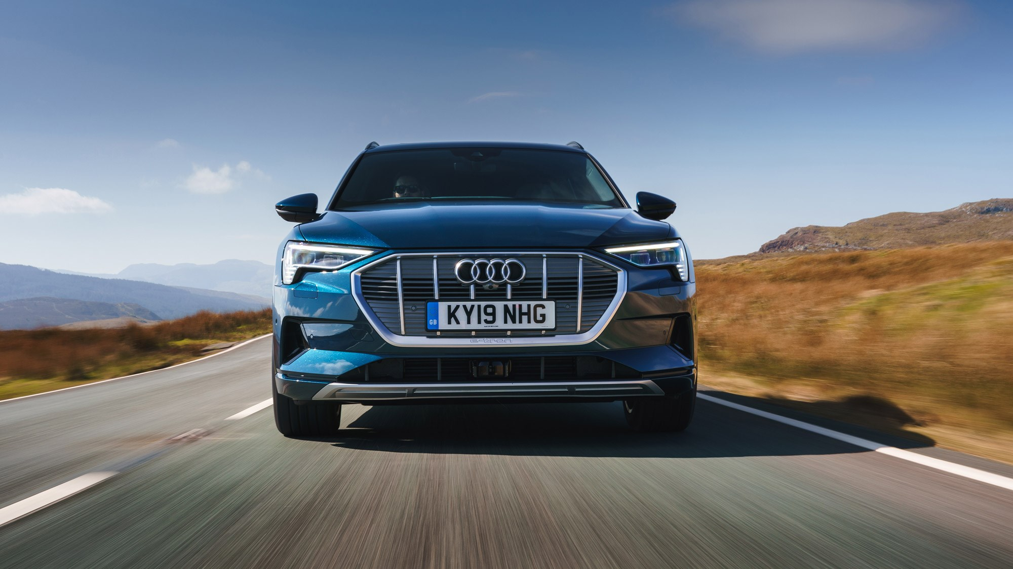 Audi e-Tron review: electric SUV driven on UK roads | CAR