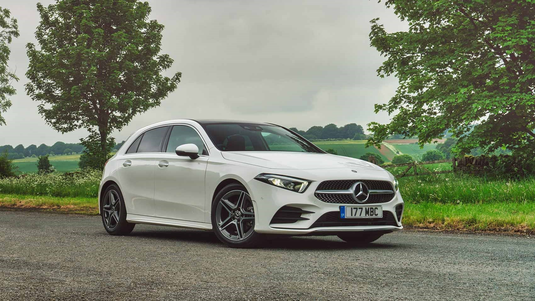 Slimline headlamps give the A-class a family-friendly face not dissimilar  to the CLS's The new Mercedes-Benz ...