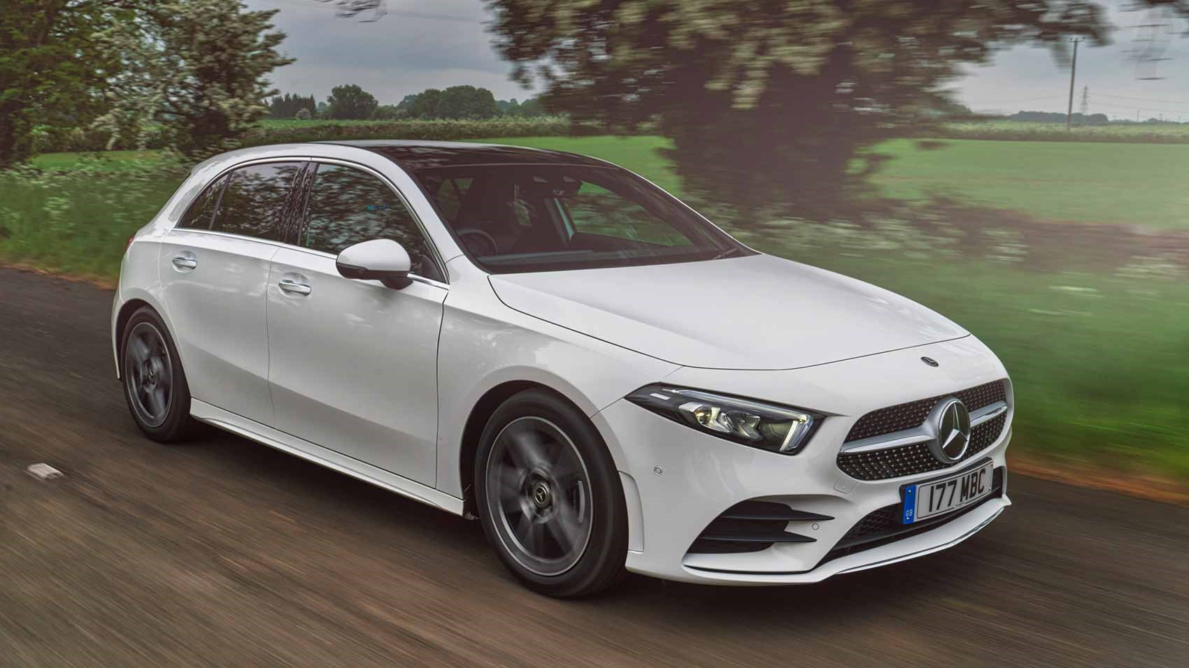 mercedes a class review every powertrain driven on uk. Black Bedroom Furniture Sets. Home Design Ideas
