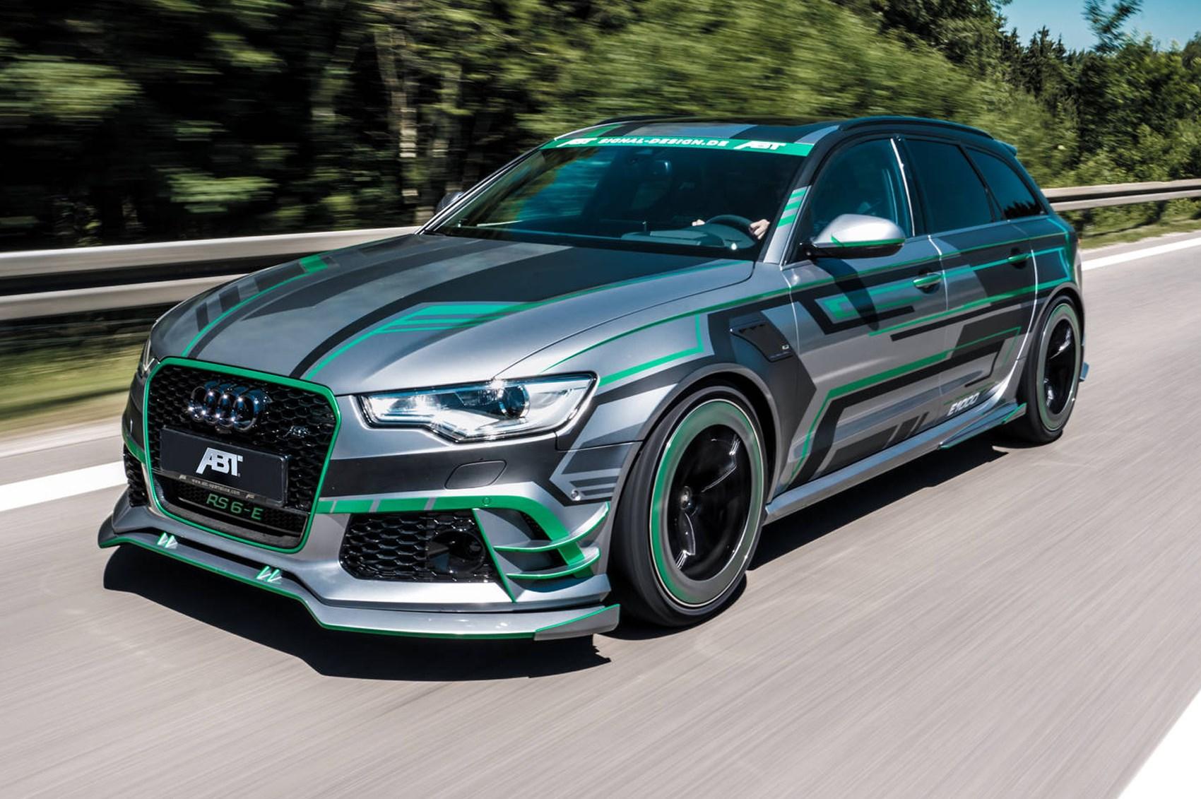 ABT RS6-E: meet the 1000+bhp Audi RS6 Avant  CAR Magazine